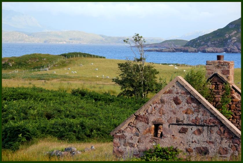 Abandoned crofter cottage